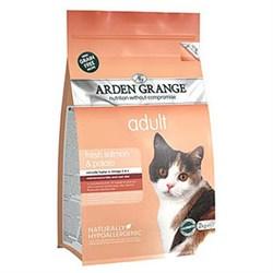 Arden Grange - Сухой беззерновой корм для взрослых кошек (с лососем и картофелем) Adult Cat Salmon & Potato - фото 8716