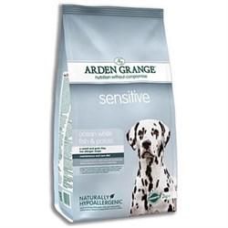 Arden Grange - Сухой корм для взрослых собак с деликатным желудком и/или чувствительной кожей Adult Dog Sensitive - фото 8730
