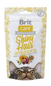 Brit - Лакомство для кошек для блестящей шерсти Care Shiny Hair - фото 8762