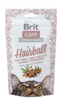 Brit - Лакомство для кошек для вывода комков шерсти Care Hairball - фото 8763