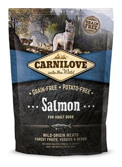 CarniLove - Сухой беззерновой корм для взрослых собак всех пород (лосось) Adult Salmon - фото 8867