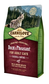 CarniLove - Сухой корм для кошек крупных пород (утка и индейка) Large Breed Duck & Turkey - фото 8879