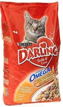 Purina Darling - Сухой корм для кошек (с птицей и овощами) - фото 8953