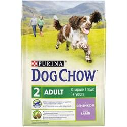 Purina Dog Chow - Сухой корм для взрослых собак старше 9 лет (с ягненком) - фото 8964