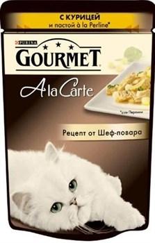 Purina Gourmet - Влажный корм для кошек (с курицей и пастой a la Perline) A la Carte - фото 9015