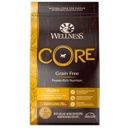 Wellness Core - Сухой беззерновой корм для щенков (с индейкой и курицей) Puppy - фото 9196