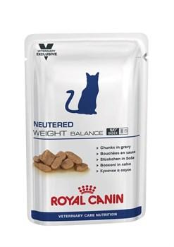 """Royal Canin (вет. диета) - Паучи для стерилизованных кошек """"Контроль веса"""" NEUTERED WEIGHT BALANCE - фото 9603"""