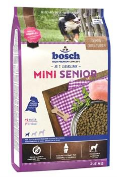 Bosch - Сухой корм для пожилых собак мелких пород Mini Senior - фото 9664