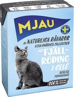 Mjau - Консервы для кошек (кусочки в желе с арктическим лососем) Tetra Recart - фото 9753