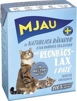 Mjau - Паштет для кошек (с радужной форелью) Tetra Recart - фото 9769