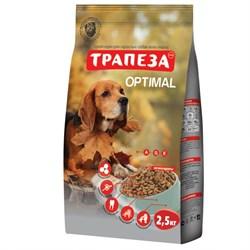 Трапеза - Сухой корм для собак ОПТИМАЛЬ - фото 9989