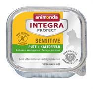 Animonda Integra - Консервы Sensitive для кошек при пищ. аллергии (c индейкой и картофелем)