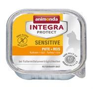 Animonda Integra - Консервы Sensitive для кошек при пищ. аллергии (c индейкой и рисом)