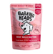 "Barking Heads - Паучи для собак ""Вуф-строганов"" (с говядиной и бурым рисом) Beef Waggington"