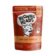 """Barking Heads - Паучи для кошек и котят """"Аппетитная индейка"""" (с индейкой, говядиной и курицей) Top Cat Turkey"""