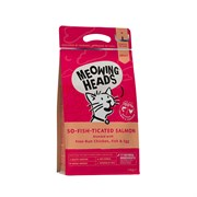 "Barking Heads - Сухой корм для взрослых кошек ""Фиш-гурман"" (с лососем, курицей и рисом) So-Fish-Ticated Salmon"