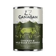 Canagan - Консервы для взрослых собак всех пород (тушеная курица и дикий кабан) Chicken & Wild Boar Casserole