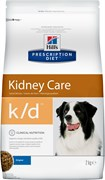 Hill's (вет. диета) - Сухой корм для собак лечение заболеваний почек K/D