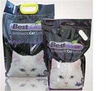 Best Clean - Наполнитель комкующийся для кошек (лаванда)