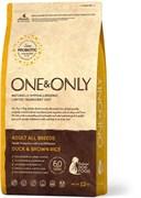 One&Only – Сухой корм для собак всех пород (утка с бурым рисом) Duck&Rice All Breeds