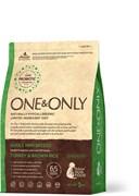 One&Only – Сухой корм для собак мелких пород (индейка с бурым рисом) Turkey&Rice Mini Breeds