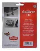 Stefanplast - Колеса для переносок Gulliver и Gulliver Deluxe 1,2,3  (Set 4 360° castors)