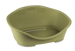 Stefanplast - Пластиковый Лежак Sleeper 3: 81*55*32см, зеленый
