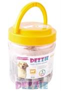 Dezzie - Лакомство для собак (сосиски из говядины) в банке 35 штук