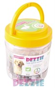 Dezzie - Лакомство для собак (сосиски из утки) в банке 35 штук