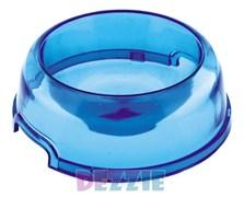 Dezzie - Миска для кошек, прозрачная, 300 мл, 15 см, пластик (цвет в ассотрименте)