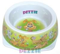 Dezzie - Миска для собак, 500 мл, 17,5*17,5*5,5 см, пластик