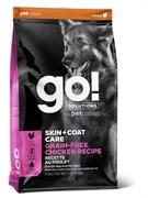 GO! Natural Holistic - Беззерновой для собак всех возрастов (с цельной курицей) SKIN + COAT Grain Free Chicken Recipe DF