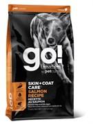 GO! Natural Holistic - Для щенков и собак (со свежим лососем и овсянкой) SKIN + COAT Salmon Recipe DF