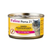Porta 21 Feline - Консервы для кошек (филе тунца с алоэ вера в желе) Tuna with Aloe Vera Jelly