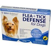 Vetri-Science защита от блох и клещей для собак до 10 кг, 1 аппликатор на 0,68 мл