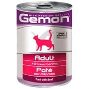 Gemon Cat - Консервы для кошек (паштет из говядины)
