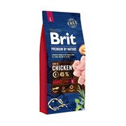 Brit - Сухой корм для взрослых собак крупных пород Premium Adult L
