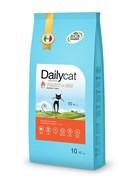 Dailycat - Сухой корм для взрослых кошек (с индейкой и рисом) Adult Turkey and Rice
