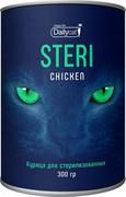 Dailycat - Сухой корм для взрослых стерилизованных кошек (с курицей) Unique line Steri