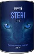Dailycat - Сухой корм для взрослых стерилизованных кошек (с рыбой) Unique line Steri