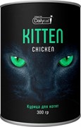 Dailycat - Сухой корм для котят (с курицей) Unique line Kitten