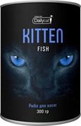 Dailycat - Сухой корм для котят (с рыбой) Unique line Kitten