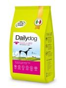 Dailydog - Сухой корм для взрослых собак крупных пород (с ягненком и рисом) Adult Large Breed Lamb and Rice