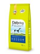 Dailydog - Сухой корм для взрослых собак средних и крупных пород (с рыбой и картофелем) Adult Medium Large Breed Fish and Potatoes