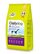 Dailydog - Сухой корм для взрослых собак средних и крупных пород (с уткой и овсом) Adult Medium Large Breed Duck and Oats