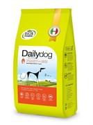Dailydog - Сухой корм для взрослых собак средних пород (с индейкой и рисом) Adult Medium Breed Turkey and Rice