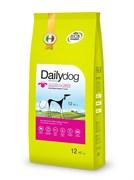 Dailydog - Сухой корм для взрослых собак средних пород (с ягненком и рисом) Adult Medium Breed Lamb and Rice