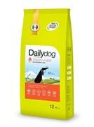 Dailydog - Сухой корм для пожилых собак мелких пород (с индейкой и рисом) Senior Small Breed Turkey and Rice