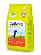 Dailydog - Сухой корм для щенков средних пород (с индейкой и рисом) Puppy Medium Breed Turkey and Rice