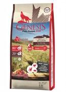 Genesis Pure Canada - Сухой беззерновой корм для взрослых собак всех пород (говядина, косуля и дикий кабан) Broad Meadow